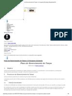 Plano de Gerenciamento Do Tempo e Cronograma (Exemplo) _ Blog MundoPM