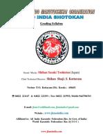 Syllabus Jkmo India Shotokan