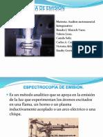 Espectroscopia de Emision