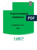 IGC-PL-SSOMA-005 Plan de Manejo Ambiental