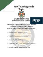 Investigación Instalación Sanitaria - Andrade Sánchez Damián