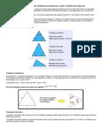 Clasificación de Los Triángulos Según Sus Lados y Según Sus Ángulos