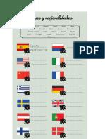 Banderas Paises y Nacionalidades