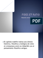 Fides Et Ratio ENCLÍTICA PAPA JUAN PABLO 2DO Capitulo 4