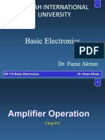 Amplifier Operation