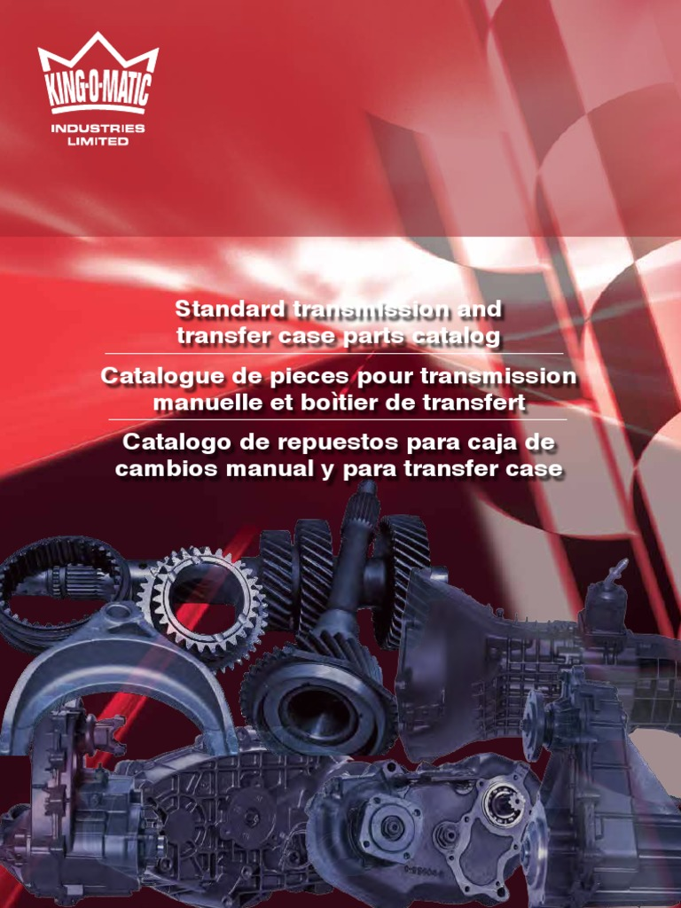 Manual-Trans-and-Transfer-Case-Parts-Catalogue pdf | Manual