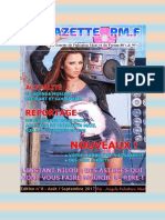 La Gazette de Pulsation Maxi du mois de Septembre 2017