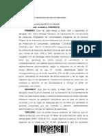 Fallo Corte de Apelaciones de Santiago sobre Acuerdo Compensatorio papel Tissue