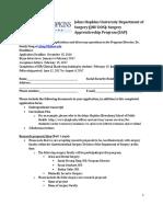 JHU DOS SAP Application