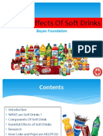 Harmful Effects of Soft Drinks2