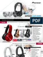 Pioneer Headphones 2015-2016 De