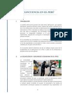 Delincuencia en El Perú