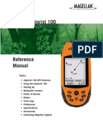Magellan Explorist 100 Owner s Manual
