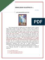 Jean Palou El Simbolismo Masonico