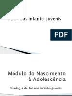 Dor nos infanto-juvenis [Salvo automaticamente].pptx