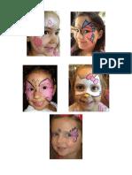 Pintacaritas niños