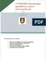 Estrategia de Internacionalizacion