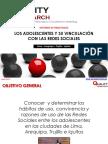 Adolescentes y Redes Sociales en Lima Arequipa Trujillo Iquitos