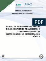 Manual de Procedimientos Unac (Enero 2014)