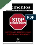 Varios - Elementos - Contra El Liberalismo El Principal Enemigo