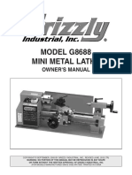 Grizzly Lathe g8688_m