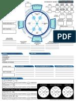 Starfinder RPG - Ship Sheet