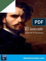 El Inocente - Gabriele D'Annunzio