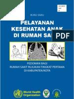 Pocket Book Pelayanan Kesehatan Anak WHO