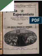 Brazila Esperantisto, Januaro-majo 1923