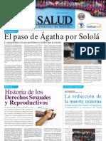 Boletín en Sololá emergencia Agatha, comités de emergencia comunitarios