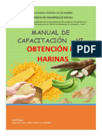 Manual de Cap. Harinas