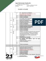 Planificsción Clase a Clase de 6to Año 2017