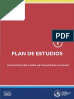 Plan de Estudios EEGGLL 2014 2