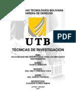 Aplicabilidad Del Seguro Social Para Los Empleados Independiente1
