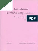 Spinoza, B. - Tratado de La Reforma Del Entendimiento y Otros Escritos (Tecnos)