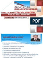 Sesion 1 - Marco Legal Municipal