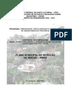 Plano Municipal de Redução de Riscos 2006