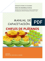 MANUAL de CAP. Chifles Platano