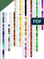 Codes Couleur HTML FR