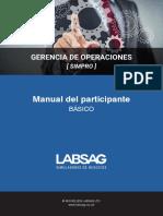 Gerencia de Operaciones Manual Del Participante Basico