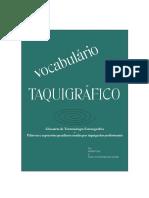 Vocabulario de Termos Taquigraficos