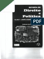 Revista Direito e Politica a Mediacao No Ambito Da Administracao Publica