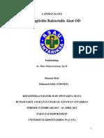 Laporan Kasus Cuma Konjungtivitis Bakterialis Akut OD
