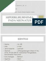 Hiperbilirubinemia Pada Neonatus