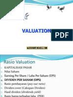 Analisis Valuation