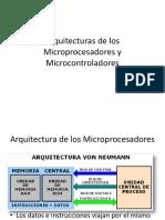 Presentacion 1 Arquitecturas de Los Micròprocesadores y Microcontroladores