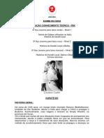Exame de Faixa_Avaliação Teórica