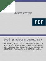 DECRETO N°83