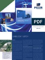 Ubtd Diesel Rotary Ups Brochure En
