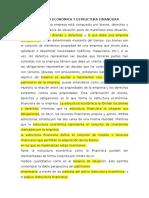 ESTRUCTURA ECON+ôMICA Y ESTRUCTURA FINANCIERA1